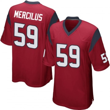 Youth Nike Houston Texans Whitney Mercilus Red Alternate Jersey - Game