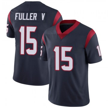 Youth Nike Houston Texans Will Fuller V Navy 100th Vapor Jersey - Limited