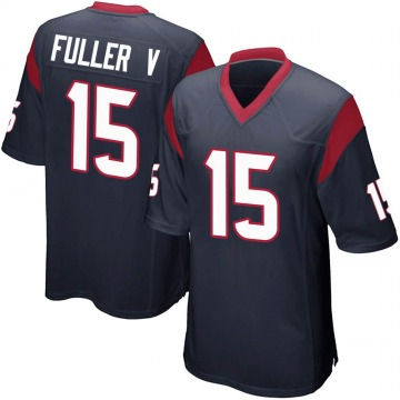 Youth Nike Houston Texans Will Fuller V Navy Blue Team Color Jersey - Game