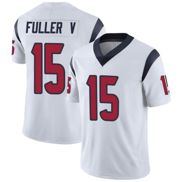 Youth Nike Houston Texans Will Fuller V White Vapor Untouchable Jersey - Limited