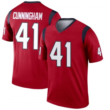 Youth Nike Houston Texans Zach Cunningham Red Jersey - Legend