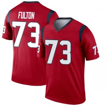 Youth Nike Houston Texans Zach Fulton Red Jersey - Legend