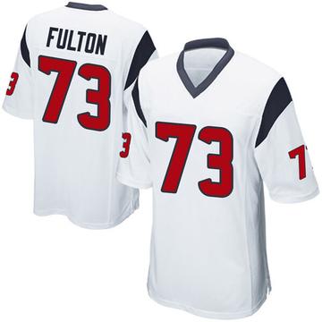 Youth Nike Houston Texans Zach Fulton White Jersey - Game